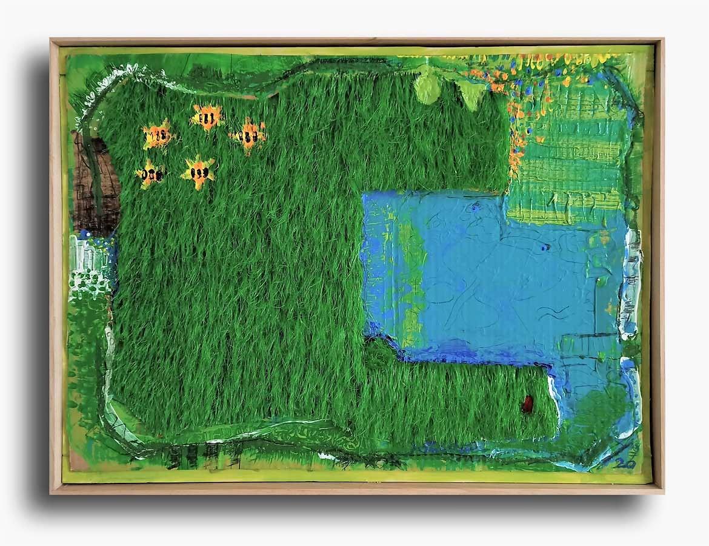Kleingarten mit pool Kim Okura 2020