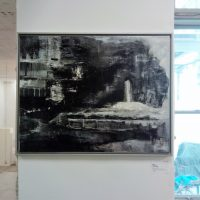 Bild Media Nocte Kim Okura Mixed Media auf Leinwand Kunst Infomel contemporaty