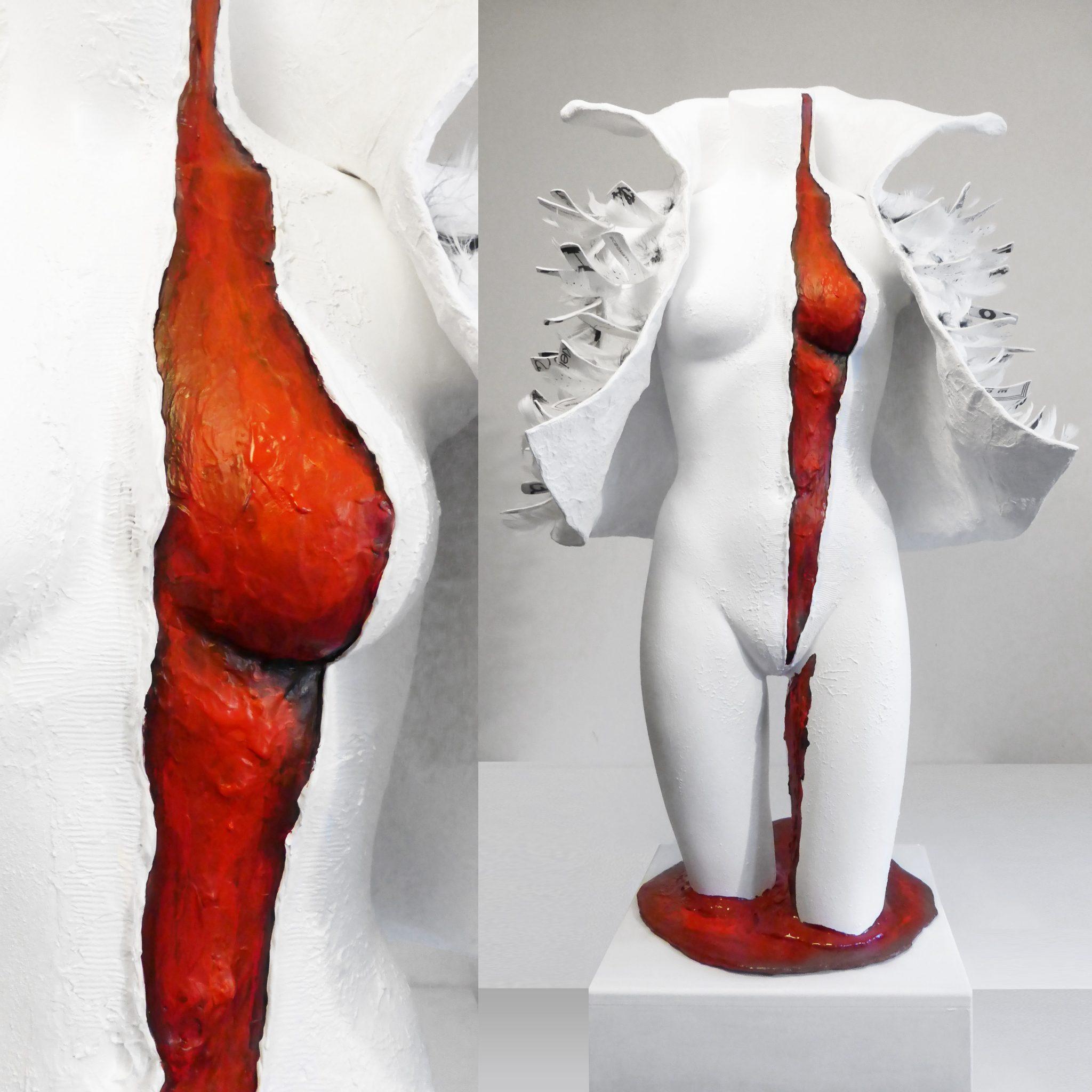 1O1 BABE sprich one o one sculpure art Kim Okura KOKVIE