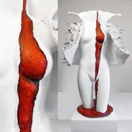 1o1 Babe Kim Okura Skulptur Luxury War