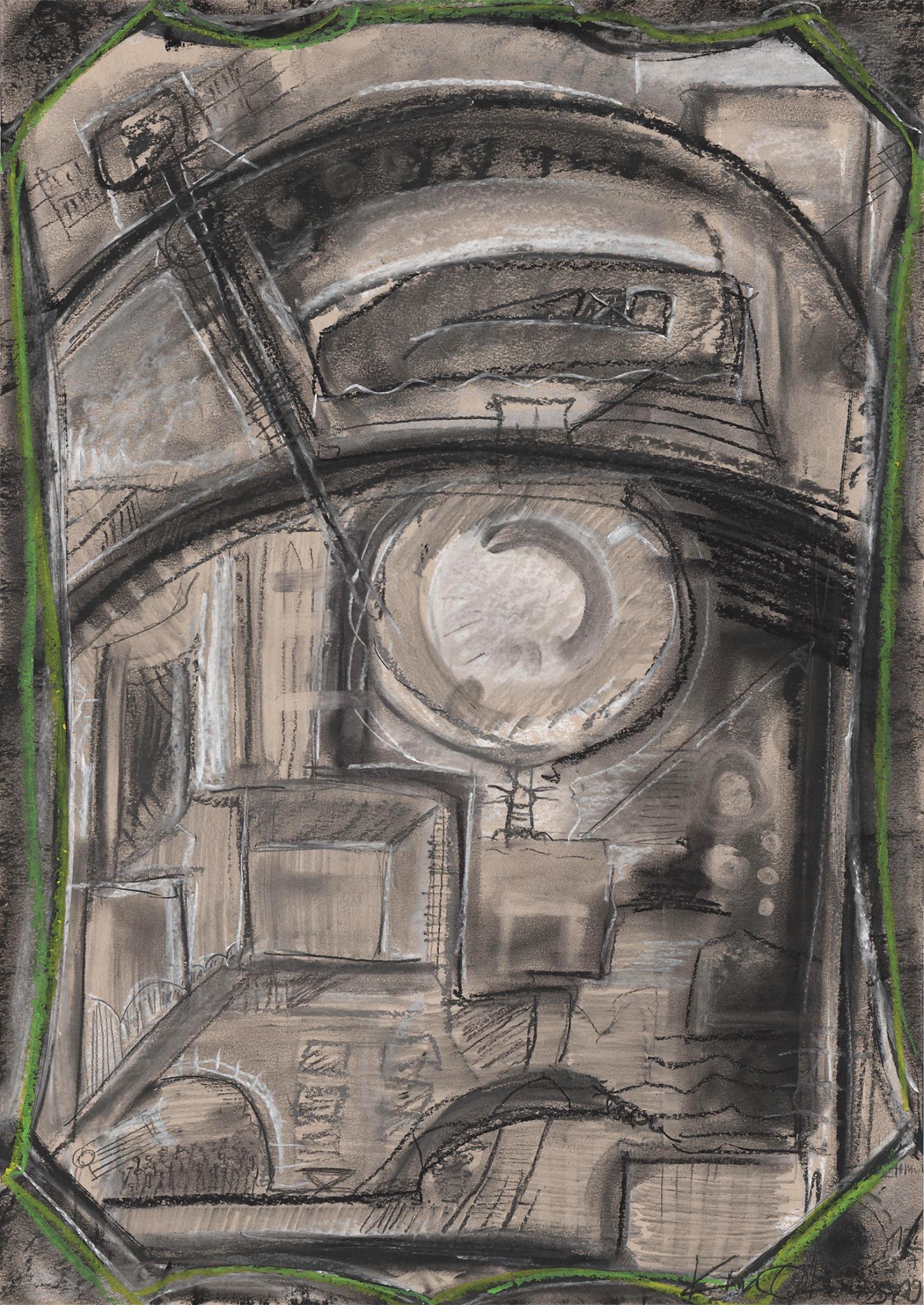 Kim Okura ANNO 3019 Dystopische Zukunftsstadt 1