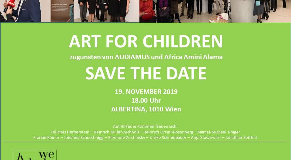 Kim Okura Albertina Wien Kunstauktion Flyer