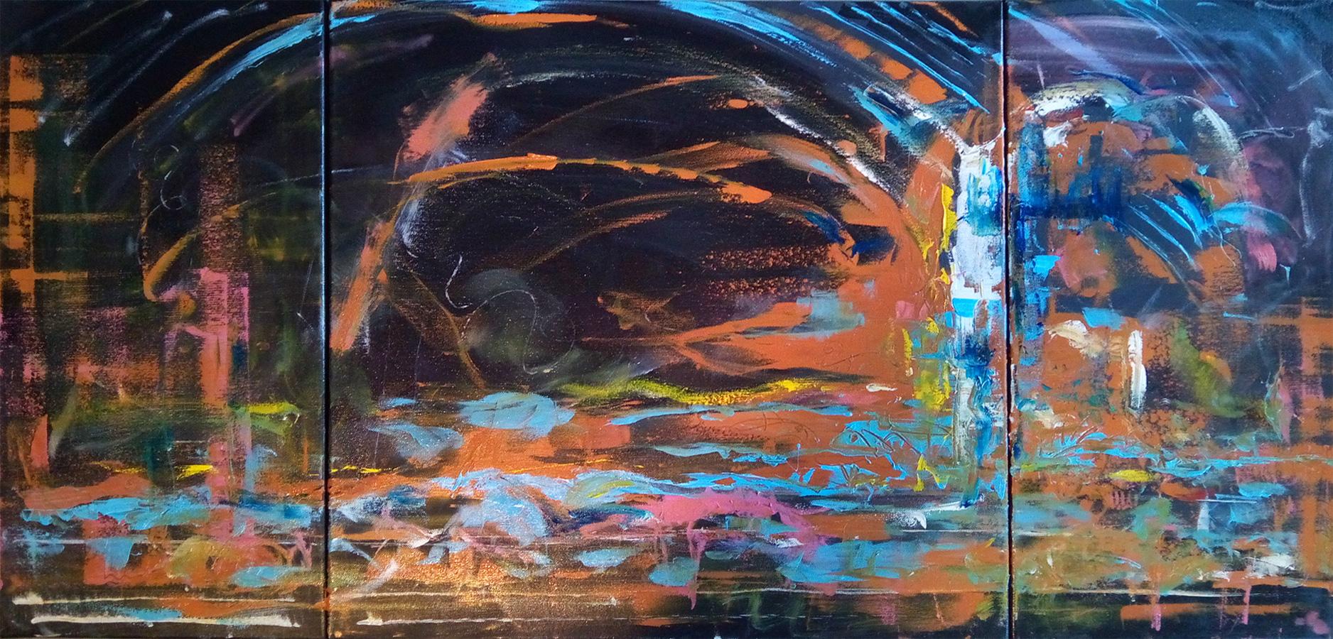 Atlantis Kim Okura 2017 Oil on Canvas