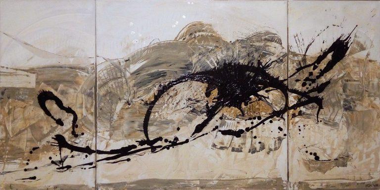 Auge des Drachen Kim Okura 2014 Malerei