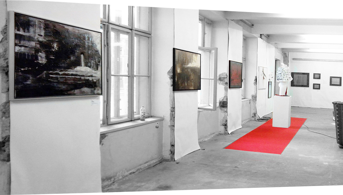 Ausstellung Kim Okura Atelier Galerie Andrew Stix