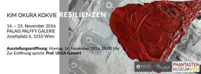 Ausstellung Kim Okura Galerie Palffy, November 2016, Lesung, Laudatio Prof. Ulrich Gansert