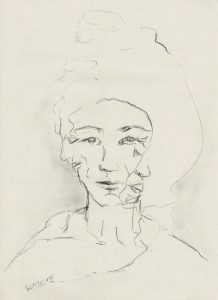 o.T. WOMAN WITH THREE FACES 2018 Image