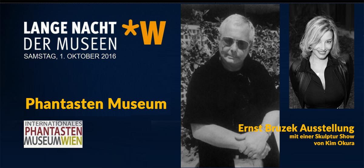 Ernst Bruzek Kim Okura Lange Nacht der Museen Phantasten Museum Wien