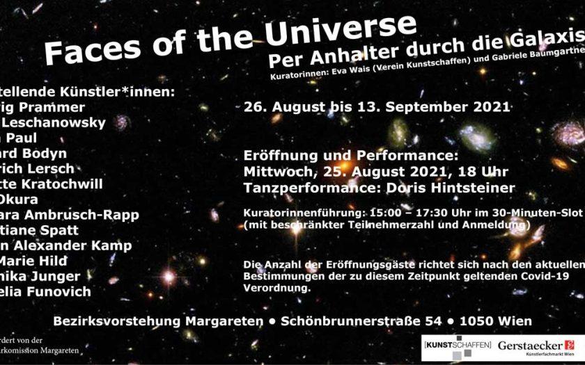 Ausstellung Kim Okura Wien Faces of the Universe BV Margareten