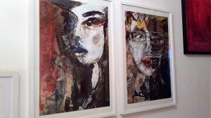 Es besteht die Möglichkeit präferierte Arbeiten im Atelier 1050 Wien (GALERIE KRAUT & RUEBIUS) persönlich zu besichtigen. Nur mit Referenz und nach Voranmeldung: Kontakt
