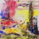 Italy 3 Kim Okura Aquileia 2017 Oil on Canvas