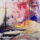 Italy II Kim Okura oil on canvas Aquileia