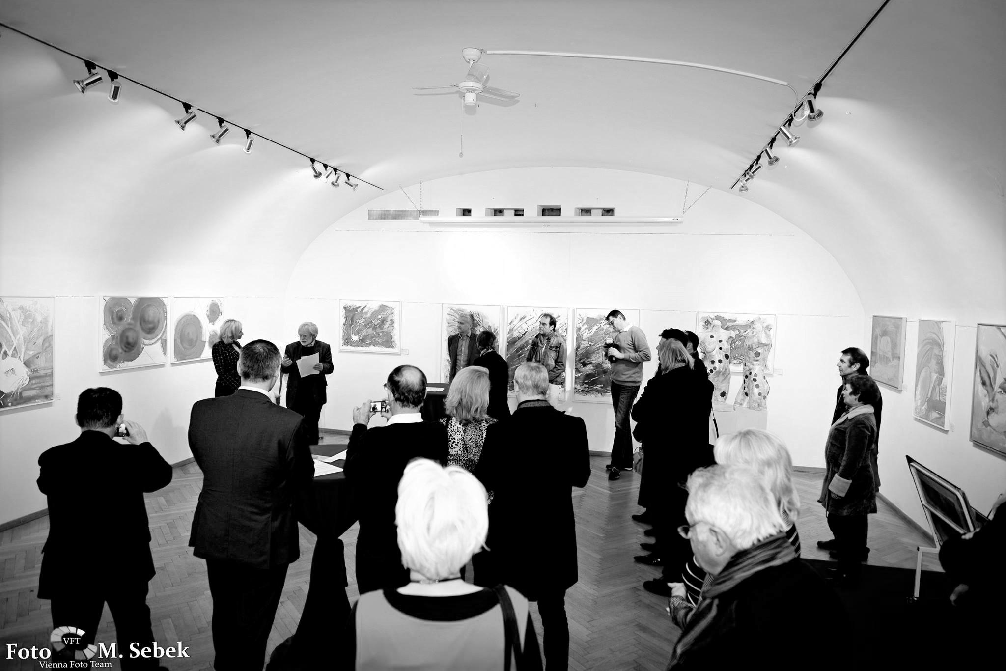 Kim Okura Ausstellung Galerie Palais Palffy