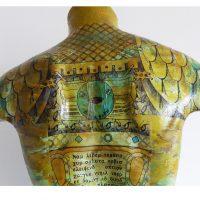 Gladiator, Kim Okura, torso sculpture