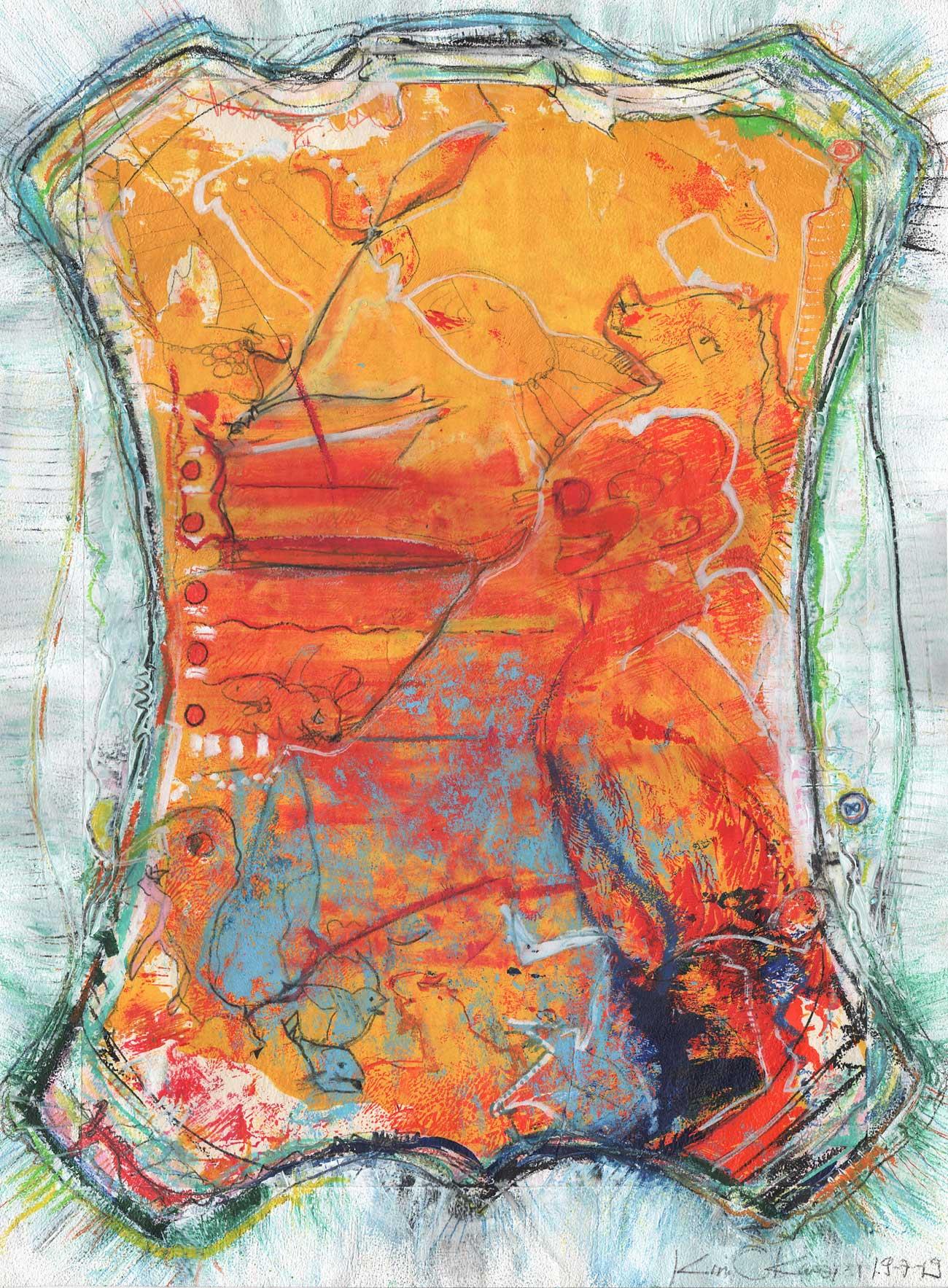 Kim Okura s Versuchskaninchen Nr. 34