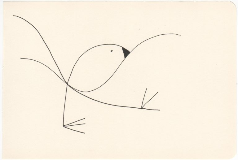 Kim Okura Tusche Drawing Flieg 6