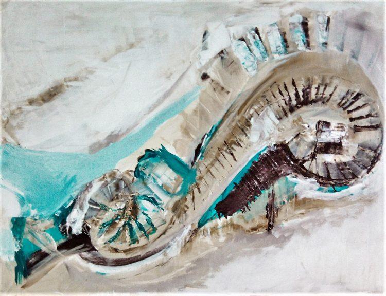 Kim Okura Malerei