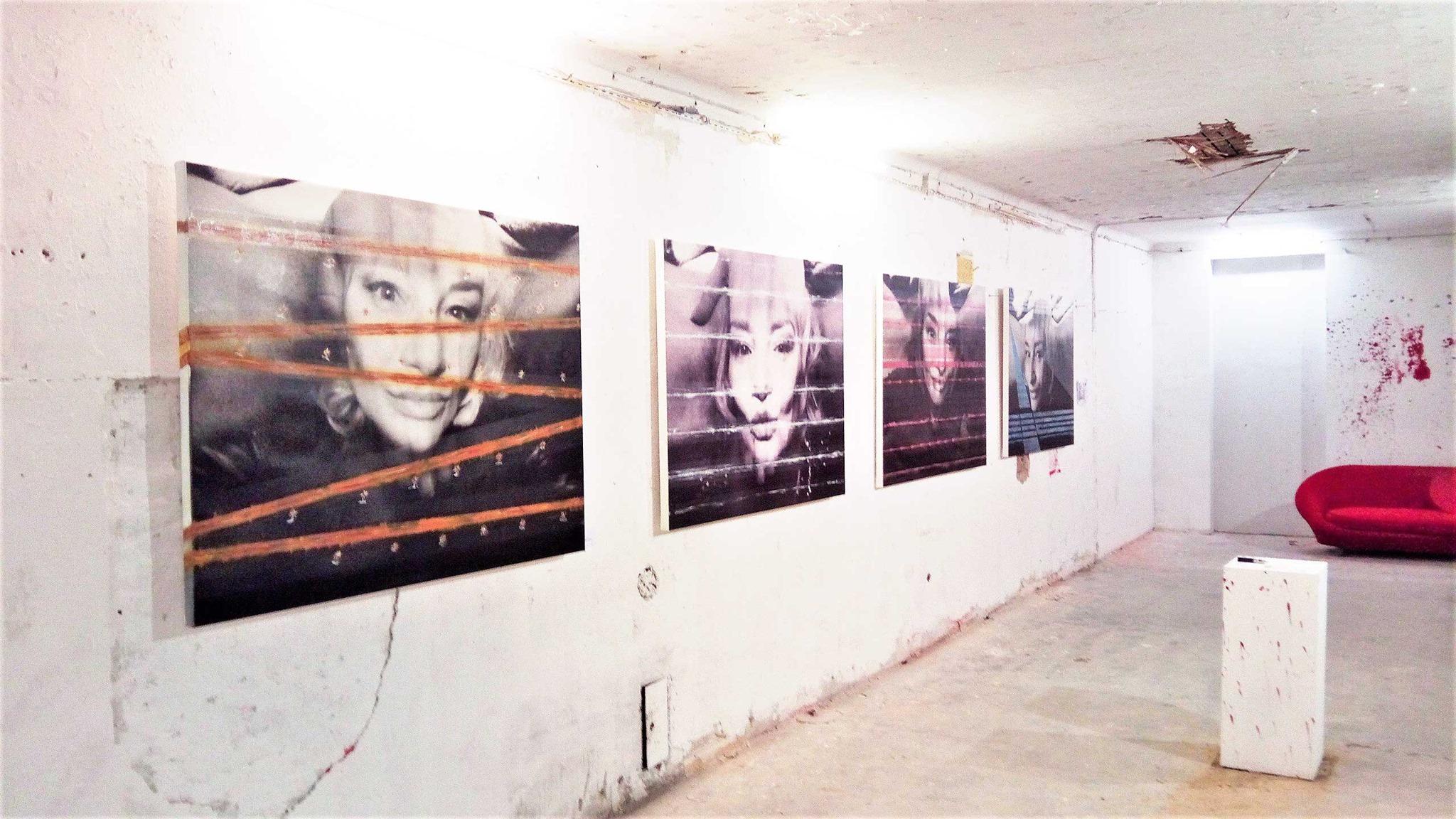 Meine Exponate // Ausstellung POR N TRAIT // atelier-galerie Fuenf vor Zwoelf Öffnungszeiten: Täglich von 16:00 bis ca. 20:00 bzw. nach Vereinbarung