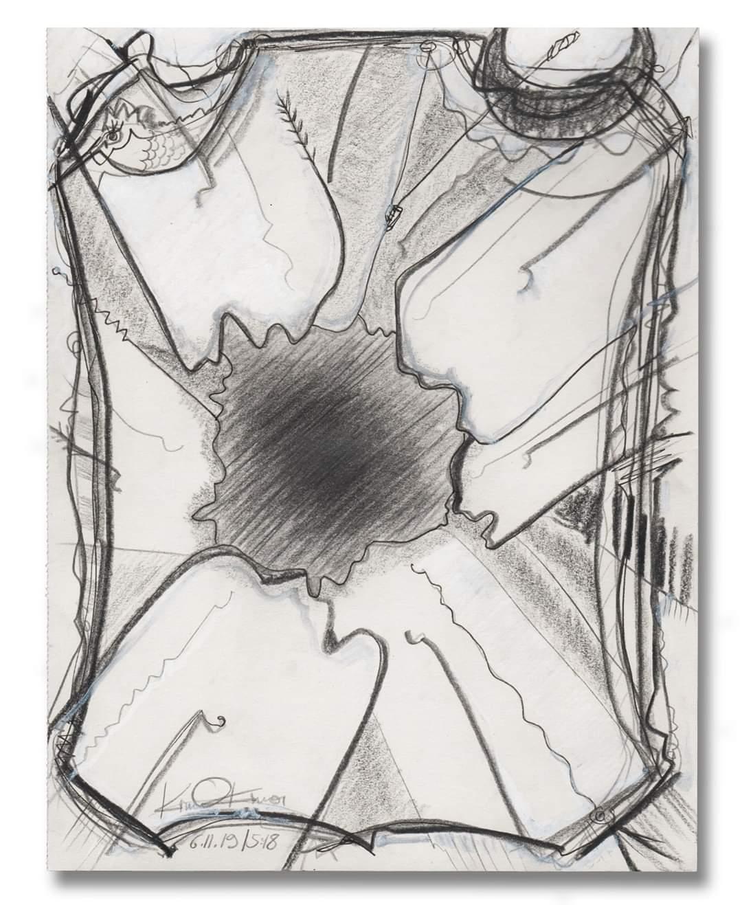 Kim Okura Zeichung