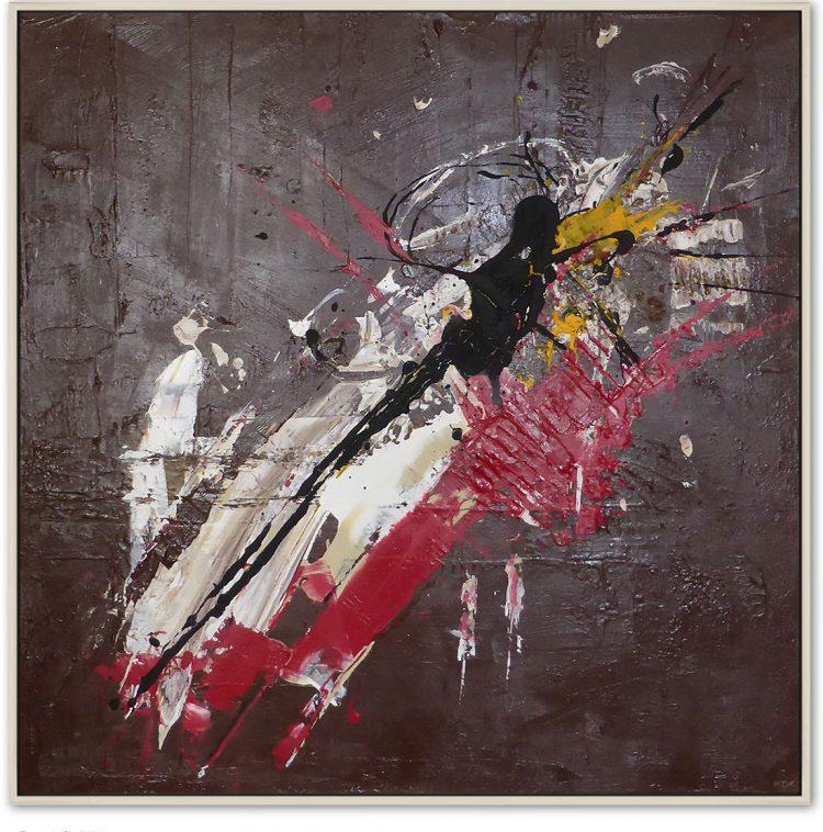 Exzess der Sinnlichkeit, Acryl auf Leinwand, Kim Okura Malerei Informel