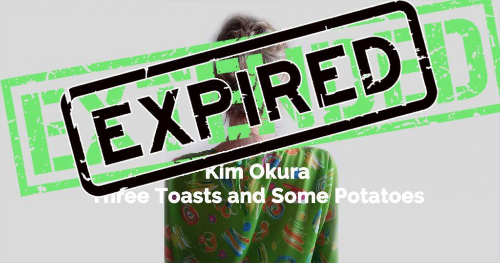 Kim Okura - Exhibition Flyer
