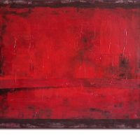 Kim Okura Malerei rot