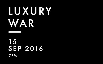 Luxury War Art Kuns Ausstellung Exhibition Wien Kim Okura