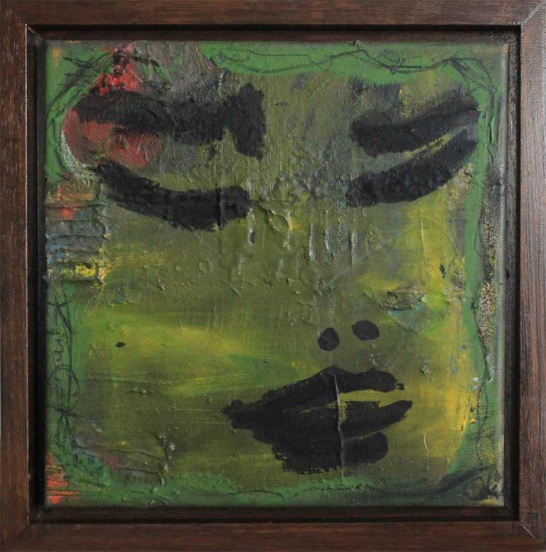 Nymphe, green yellow Kim Okura