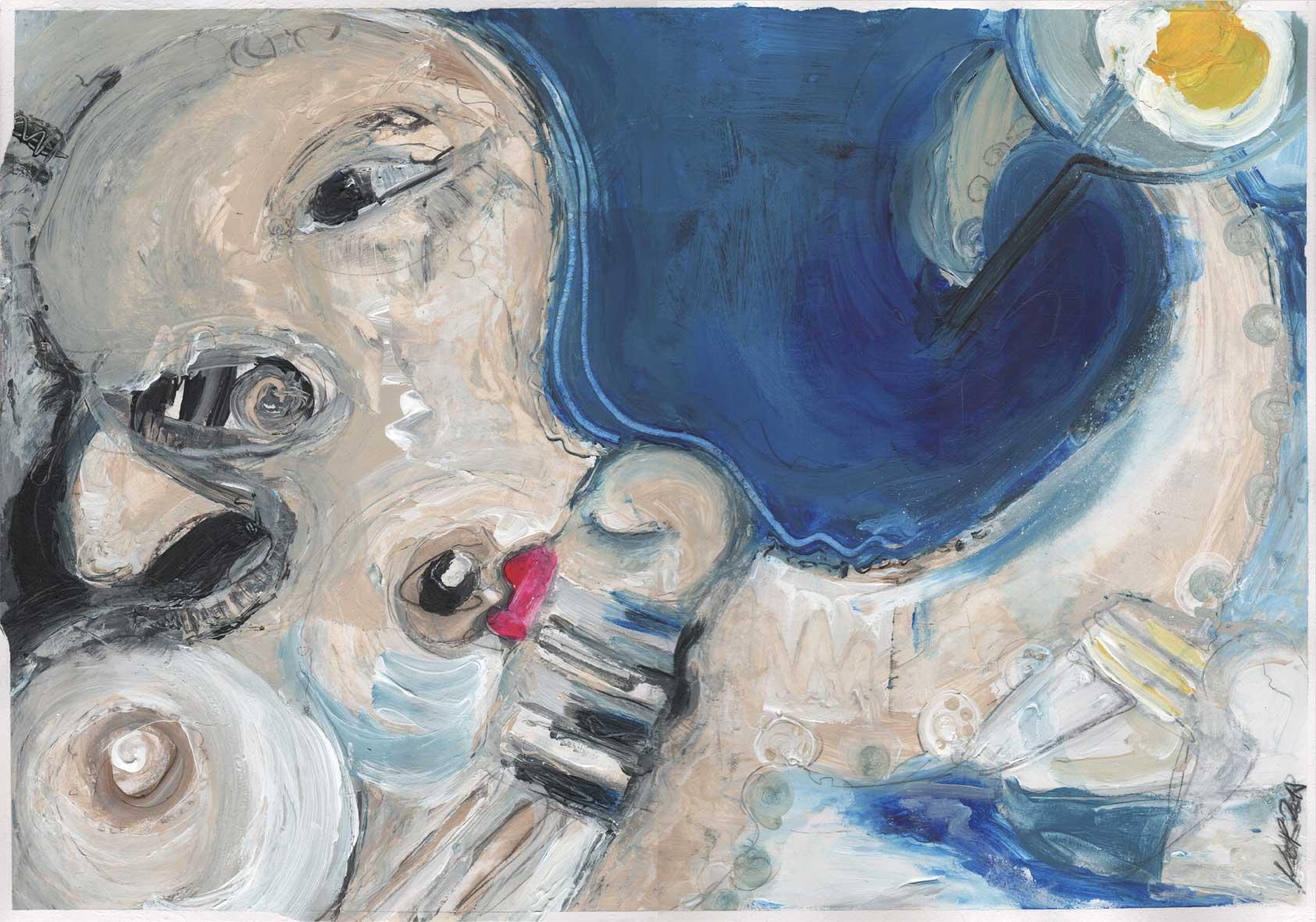OKTOPUSSY I BREASTFEEDING TINTENFISCH MUM MIT IMMER SCHÖNER FRISUR (UT & WORKING TITLE) KIM OKURA 2018