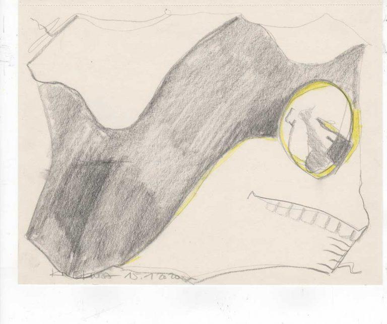 ot YELLOW FEELING graphit drawing Kim Okura