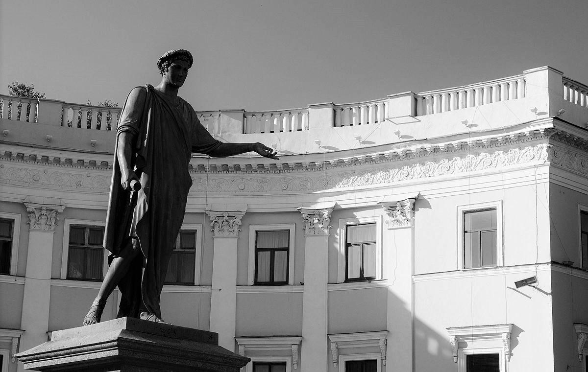 Odessa Duc de Richelieu Foto Haidamac KOVIE bw