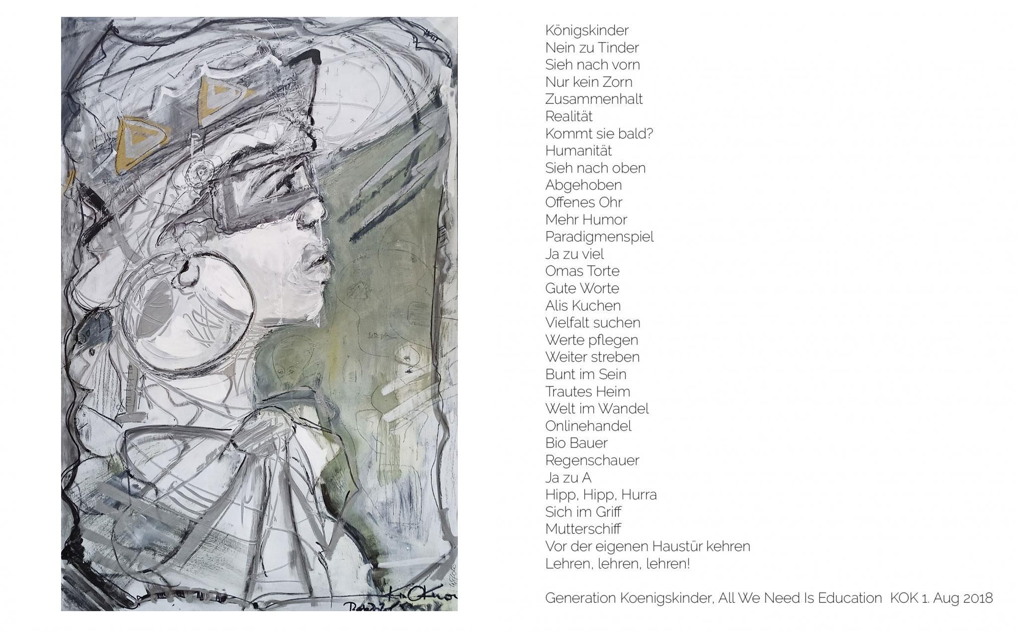 Gedicht zu Untitled Genaration Koenigskinder
