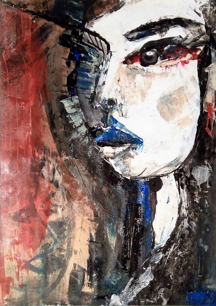 Untitled - woman with the red earring