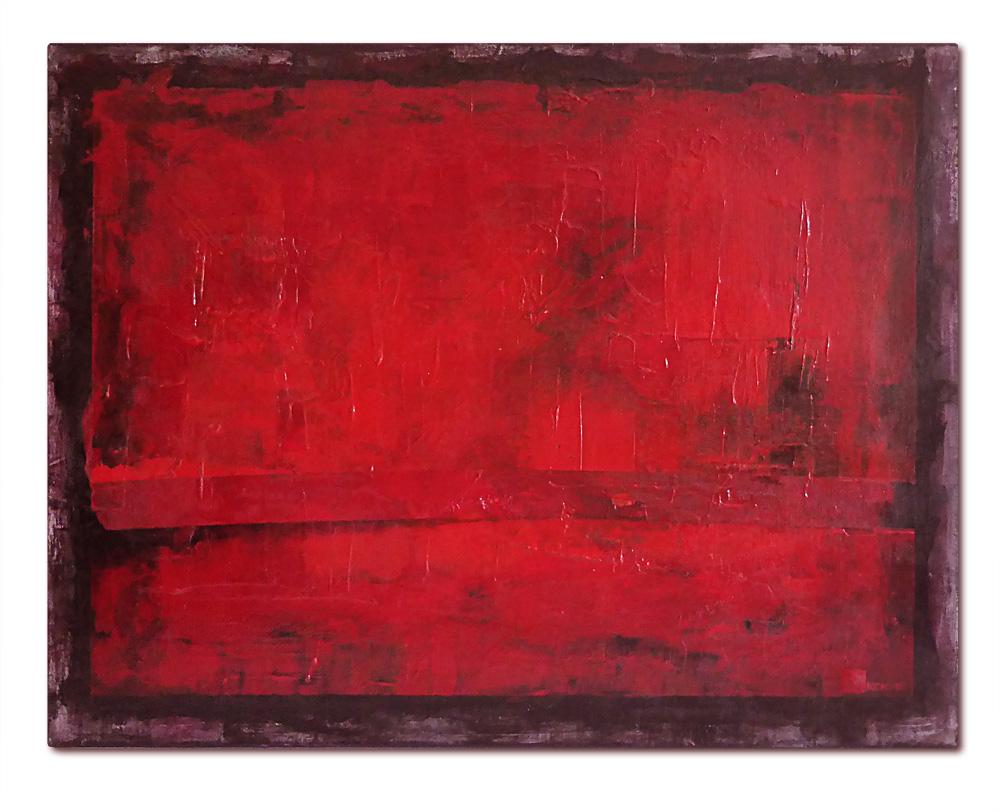 Kim Okura Bild Rot Malerei