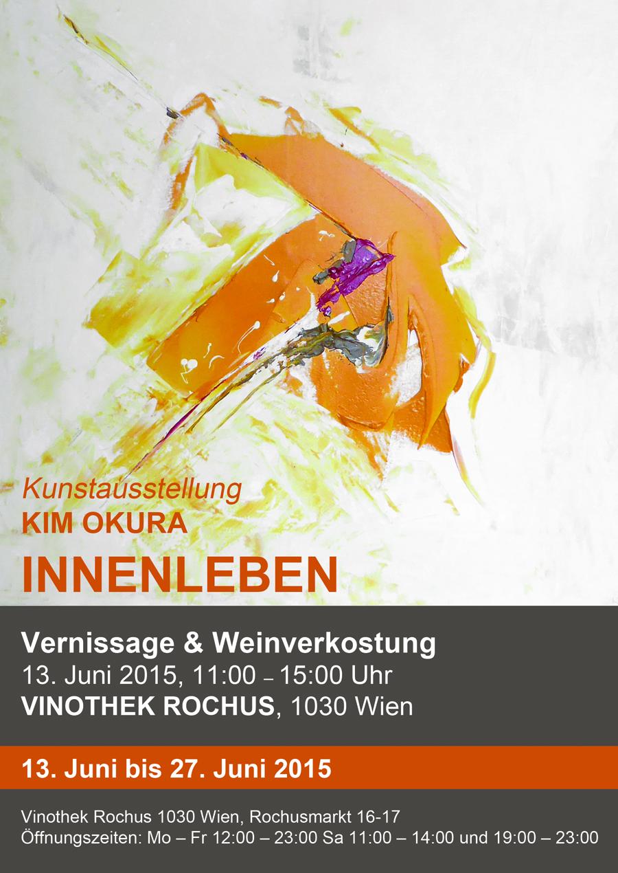 Ausstellung KIM OKURA INNENLEBEN, Ausstellungsdauer: 13. Juni bis 27. Juni 2015