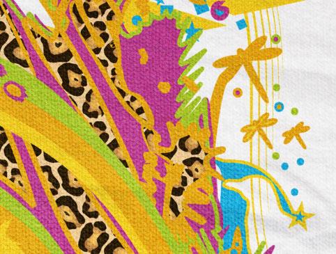 Design detail: Dragonfly - ART for Social HUMAN KIDS Tee KIM OKURA for Braintribe.org
