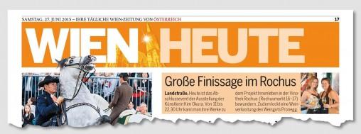ÖSTERREICH Artikel zur KIM OKURA Finissage, Ausstellung INNENLEBEN in der Vinothek Rochus Wien