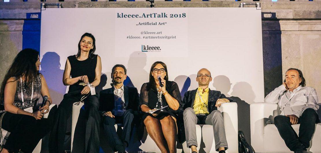 kleeee ArtTalk 2018 Gloriette - Schloss Schoenbrunn Vienna mit KIM OKURA Leitung Barbara Steffen