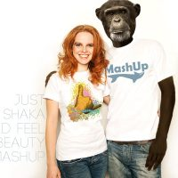 JUST SHAKA an MASHUP Designs ART on Shirts Kollektion
